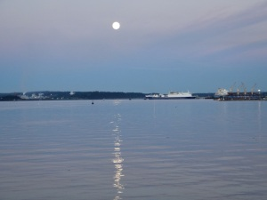 Full Moon June 2013, Nanaimo, BC
