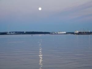 Full Moon June 2013, Nanaimo, BC