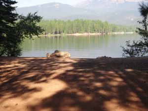 Lake Siskiyou Beach, Mt Shasta 2011