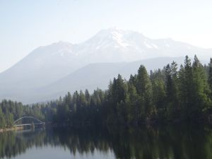 Mt Shasta Morning Mists 2011