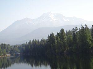 Mt Shasta Morning Mists 2011
