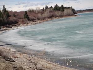 Frozen Glacial Water 2015