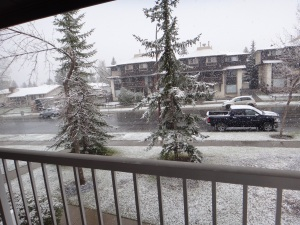 Snow in May 2015!
