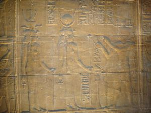 Hathor, Isis & Osiris @ Philae Temple, Aswan, Egypt 2011