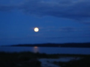 May 24, 2013 Full Moon, Fanny Bay, BC