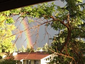 New Moon/Solar Eclipse in Virgo Rainbow!
