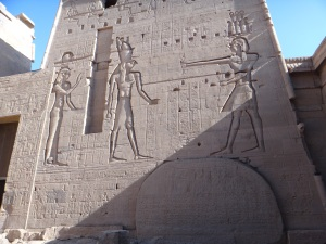 Isis and Osiris, Philae Temple, Egypt 2011