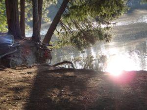 Lake Siskiyou Sun Orbs
