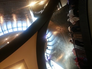 Looking UP inside National Music Centre July 1, 2016