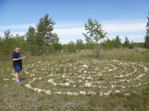 Nose Hill Labyrinth 2016